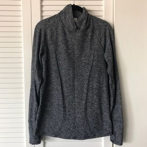 Lululemon Heathered Gray Pullover 6